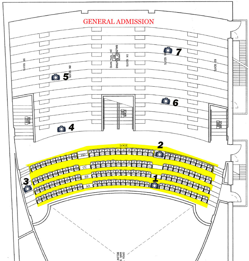 Upper Balcony and Loge - Page 2